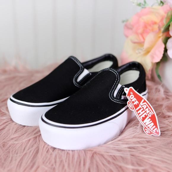 Vans Shoes | New Womens Size 5 Black